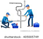 detailed character proffesional ... | Shutterstock .eps vector #405005749
