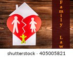 family law concept | Shutterstock . vector #405005821