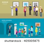 funny character people in... | Shutterstock .eps vector #405005875