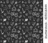 hand drawn doodle sport...   Shutterstock .eps vector #405016444