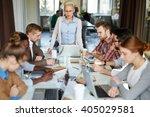 teamwork | Shutterstock . vector #405029581