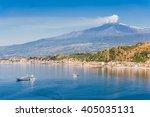 beautiful mediterranean... | Shutterstock . vector #405035131