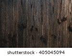 Texture Of Dark  Brown Wooden...