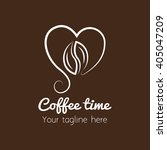 coffee shop logo | Shutterstock .eps vector #405047209