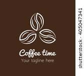 coffee shop logo | Shutterstock .eps vector #405047341