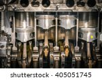 engine piston cross section | Shutterstock . vector #405051745