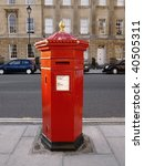 Victorian British Red Post Box