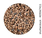 Small photo of Expanded clay aggregate pattern background