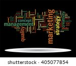 vector concept or conceptual... | Shutterstock .eps vector #405077854