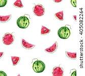 seamless bright stylish hand... | Shutterstock . vector #405082264