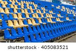 photo of empty seats in the... | Shutterstock . vector #405083521