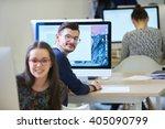 startup business  software... | Shutterstock . vector #405090799