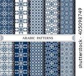 arabic vector pattern pattern...   Shutterstock .eps vector #405098749