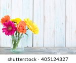 spring flowers background | Shutterstock . vector #405124327