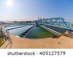 sludge recirculation clarifier... | Shutterstock . vector #405127579