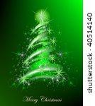 christmas background | Shutterstock .eps vector #40514140