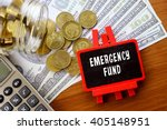conceptual image with emergency ... | Shutterstock . vector #405148951