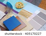 color harmonisation for interior | Shutterstock . vector #405170227