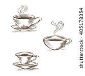 set of isolated vector...   Shutterstock .eps vector #405178354