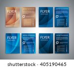 flyer design templates. set of... | Shutterstock .eps vector #405190465