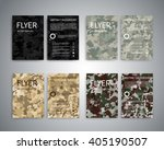 flyer design templates. set of... | Shutterstock .eps vector #405190507