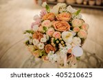 bouquet of the different mixed  ... | Shutterstock . vector #405210625