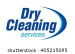 Dry Cleaning Service Logo...