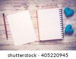 love message or invitation | Shutterstock . vector #405220945