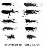 grunge banner sets | Shutterstock .eps vector #405242704