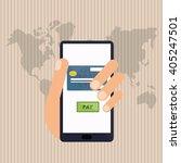 payment vector design   vector... | Shutterstock .eps vector #405247501