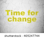 timeline concept  yellow time... | Shutterstock . vector #405247744