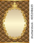 antique background with royal... | Shutterstock .eps vector #405248635