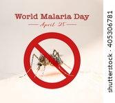 world malaria day | Shutterstock . vector #405306781