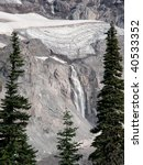 Glaciers And Waterfalls On...
