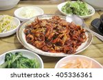 Korean Spicy Stir Fry Octopus...