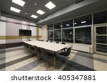 empty boardroom interior in the ... | Shutterstock . vector #405347881