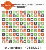 universal website icon set... | Shutterstock .eps vector #405353134