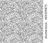 seamless abstract fantasy...   Shutterstock .eps vector #405359875