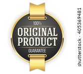 black original product badge ... | Shutterstock .eps vector #405369481