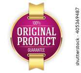 purple original product badge ... | Shutterstock .eps vector #405369487