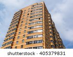modern high rise apartment... | Shutterstock . vector #405379831