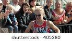 Athlete Paula Radcliffe...