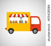 food delivery design  | Shutterstock .eps vector #405428584