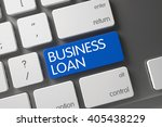 concept of business loan  with... | Shutterstock . vector #405438229