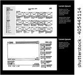 website ui wire frames