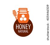 vector honey logo | Shutterstock .eps vector #405446509