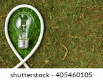 green energy. concept ecology.... | Shutterstock . vector #405460105