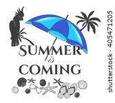 summer time label for your... | Shutterstock .eps vector #405471205