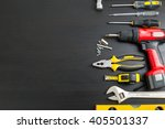 tools manual hardware blank... | Shutterstock . vector #405501337