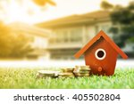 mortgage loading and calculator ... | Shutterstock . vector #405502804